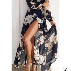 Reverse Wrap Dress